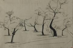 tekening_Ibiza-Almendras-1958