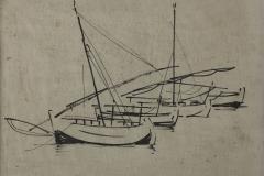 tekening_Ibiza-vissershaven-1958